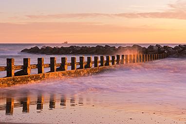 United Kingdom-Aberdeen-Aberdeen Beach