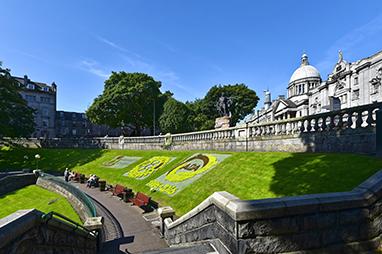 United Kingdom-Aberdeen-Union Terrace Gardens