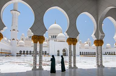 United Arab Emirates-Abu Dhabi-To Μεγάλο Τζαμί του Sheikh Zayed