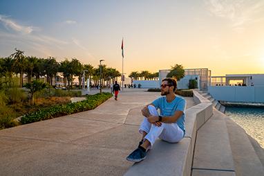 United Arab Emirates-Abu Dhabi-Λούβρο Αμπού Ντάμπι