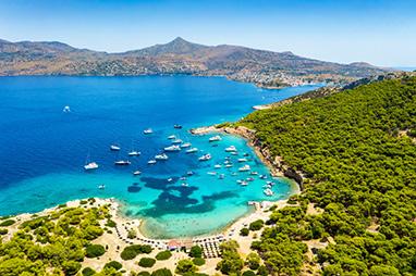 Saronic Islands - Aegina - Visit to the islets