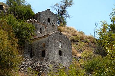 Saronic Islands - Aegina - Paleochora