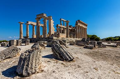 Saronic Islands - Aegina - Temple of Aphaia