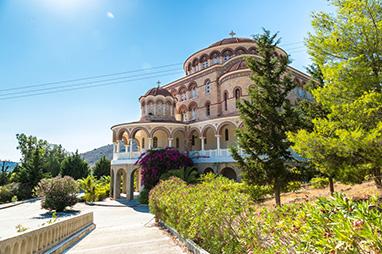 Saronic Islands - Aegina - Monastery of Agios Nektarios