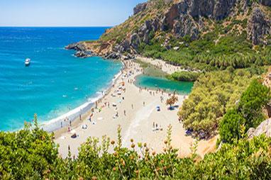 Crete - Agia Galini - Preveli beach