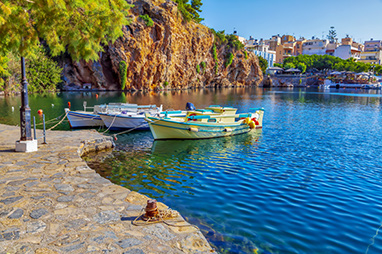Crete - Agios Nikolaos - Lake Voulismeni
