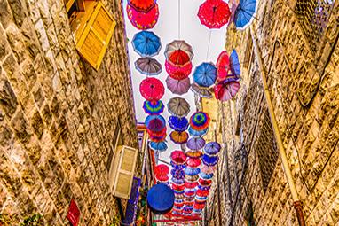 Jordan-Amman-Rainbow Street
