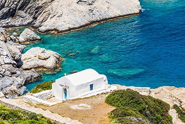 Cyclades-Αμοργός - Εκκλησία της Αγίας Άννας