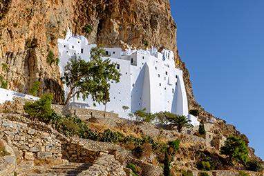 Cyclades-Αμοργός - Μοναστήρι της Χοζοβιώτισσας