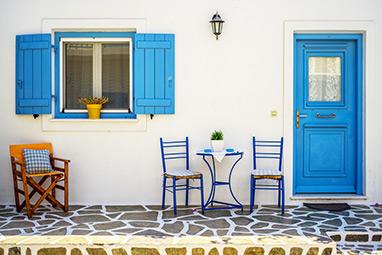 Cyclades - Antiparos - Castle