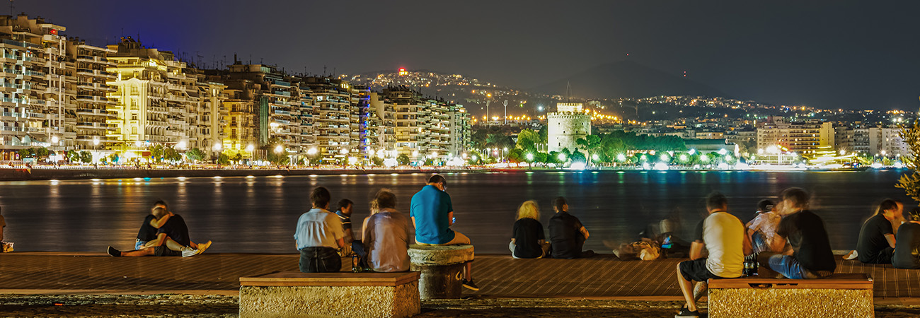 Athens – Thessaloniki, with a day in Delphi and Meteora