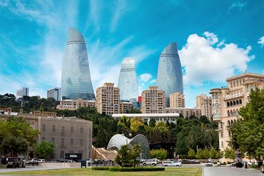 Azerbaijan-Baku-Flame Towers