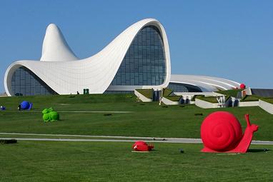 Azerbaijan-Baku-Heydar Aliyev Centre