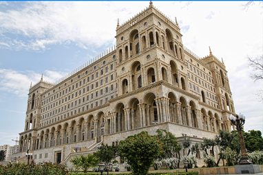 Azerbaijan-Baku-House of Government