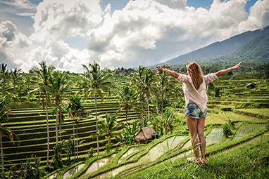 Indonesia-Bali-Tegallalang Rice Terrace