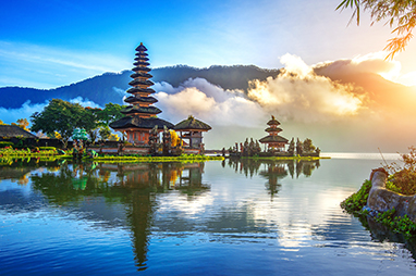 Indonesia-Bali-Temples in Bali