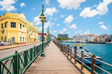 Bridgetown-Barbados-Downtown Bridgetown