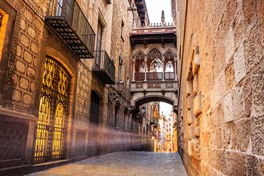 Spain-Barcelona-Γοτθική συνοικία