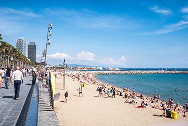 Spain-Barcelona-Παραλίες της Βαρκελώνης