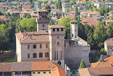 Italy-Bergamo-Urgnano Castle