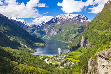 Norway-Bergen-Κρουαζιέρα στα φιορδ