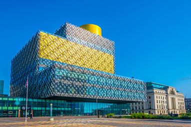England - Birmingham - Birmingham Library