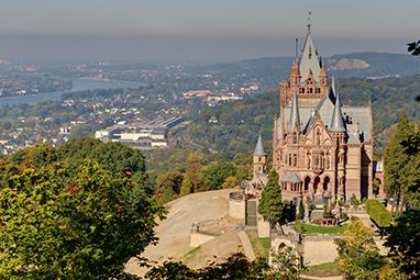 Germany-Bonn-Schloss Drachenburg