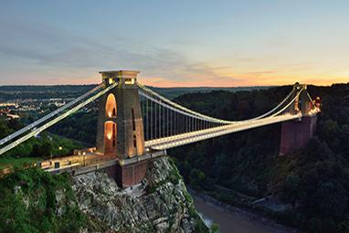 United Kingdom-Bristol-Clifton Suspension Bridge