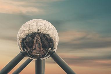 Belgium-Brussels-Atomium