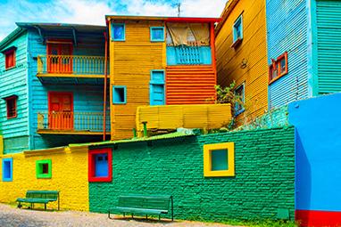 Argentina-Buenos Aires-La Boca and the Caminito Street Museum