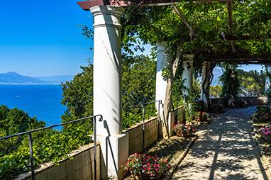 Italy-Capri-Βίλα San Michele