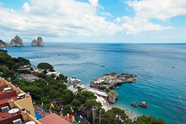 Italy-Capri-Μαρίνα Piccola
