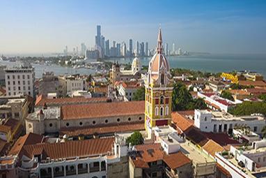 Colombia-Cartagena-Catedral Santa Catalina de Alejandria