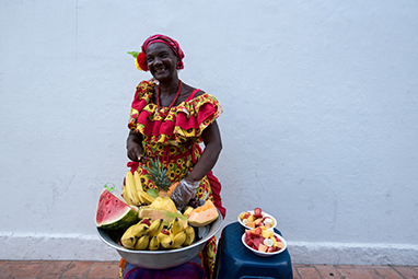 Colombia-Cartagena-Street Food