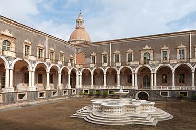 Italy-Catania-Benedictine Monastery