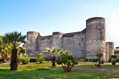 Italy-Catania- Castello Ursino