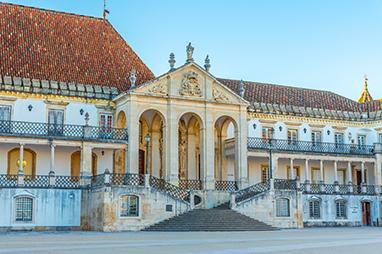 Portugal-Coimbra- Velha Universidade de Coimbra (Παλαιό Πανεπιστήμιο)