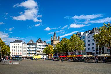 Germany-Cologne-Heumarkt