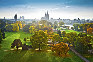 Germany-Cologne-Rheinpark