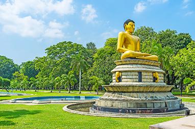 Sri Lanka - Colombo - Viharamahadevi Park