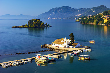 Ionian - Corfu - Vlacherna Monastery