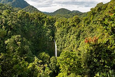 Κεντρική Αμερική, Κόστα Ρίκα, Καταρράκτης La Fortuna