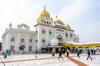 India - Delhi - Gurudwara Bangla Sahib