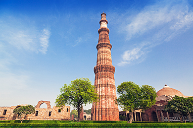 India - Delhi - Qutub Minar