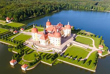 Germany-Dresden-Moritzburg Castle