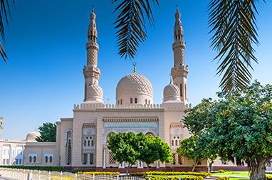 United Arab Emirates-Dubai-Τζαμί της Jumeirah