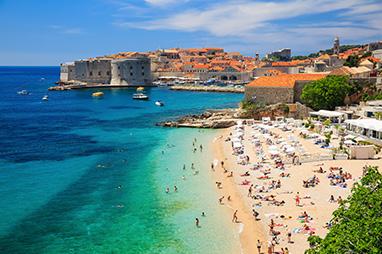 Croatia-Dubrovnik-Παραλίες