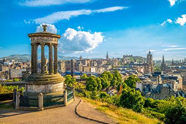 England - Edinburgh - Calton Hill