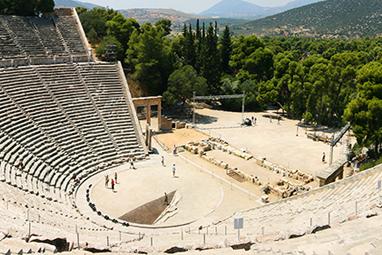 Peloponissos-Nafplio-Ancient theatre of Epidavros