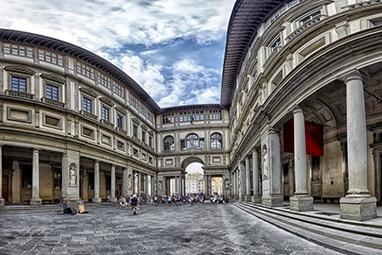 Italy-Florence-Uffizi Gallery